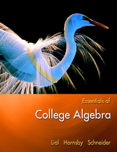 9780321385239: Essentials of College Algebra
