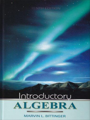 9780321386663: Introductory Algebra (10th Edition)
