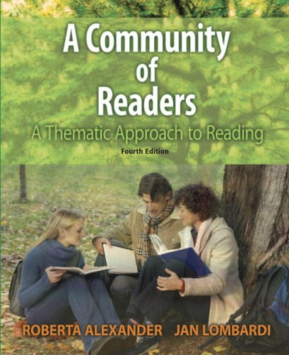 9780321387639: A Community of Readers: A Thematic Approach to Reading (4th Edition)