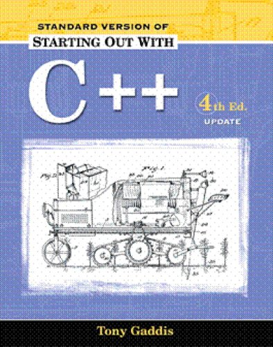 9780321387684: Starting Out with C++, Standard Version 2005 Update Package (4th Edition)