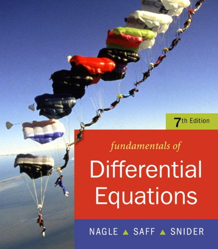9780321388414: Fundamentals of Differential Equations (7th Edition)