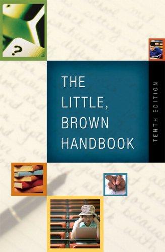 9780321389510: The Little, Brown Handbook