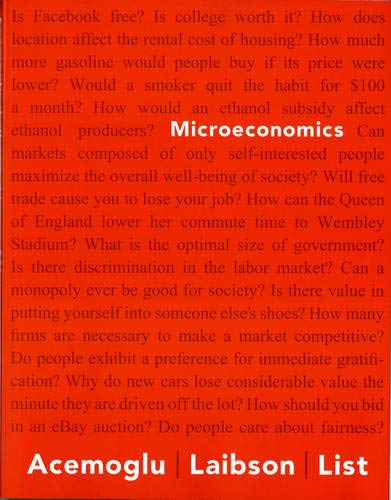Microeconomics (The Pearson Series in Economics): List, John, Laibson,