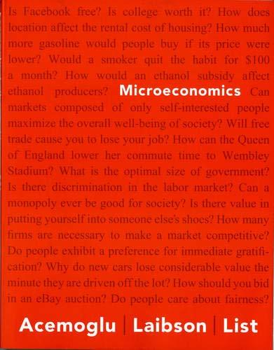 9780321391575: Microeconomics (The Pearson Series in Economics)