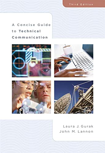9780321391681: A Concise Guide to Technical Communication(3rd Edition)