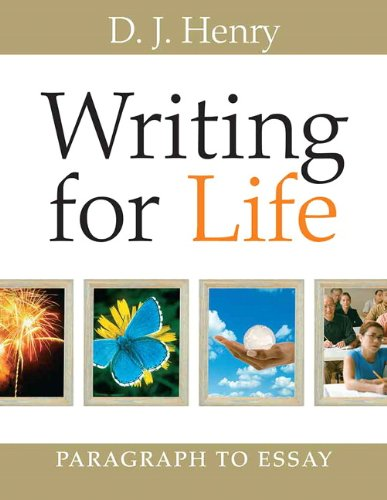 9780321392312: Writing for Life: Paragraph to Essay