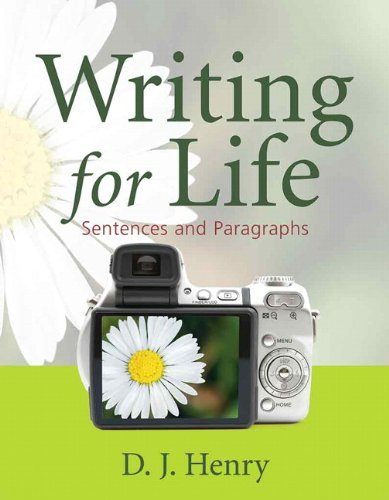 9780321392329: Writing for Life: Sentences and Paragraphs (Henry Writing Series) (Bk. 1)