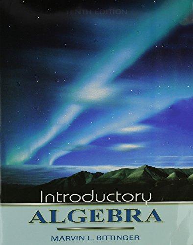 9780321395269: Introductory Algebra plus MyMathLab Student Starter Kit (10th Edition)