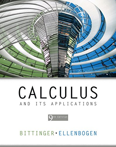 9780321395344: Calculus and Its Applications (9th Edition)