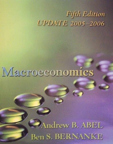 9780321395771: Macroeconomics: Update Edition 2005-2006