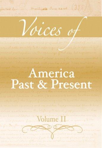 Voices of America Past and Present, Volume II: Longman
