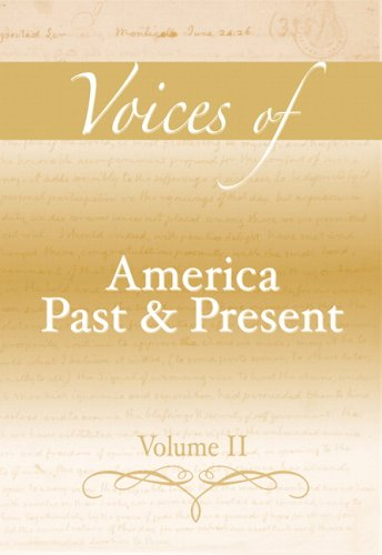 9780321396013: 2: Voices of America Past and Present, Volume II