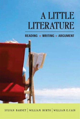 9780321396198: A Little Literature: Reading, Writing, Argument
