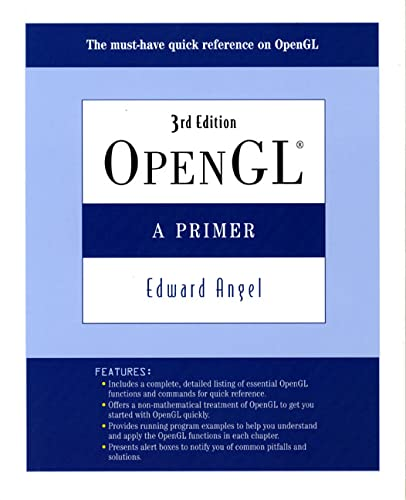 9780321398116: OpenGL: A Primer (3rd Edition)