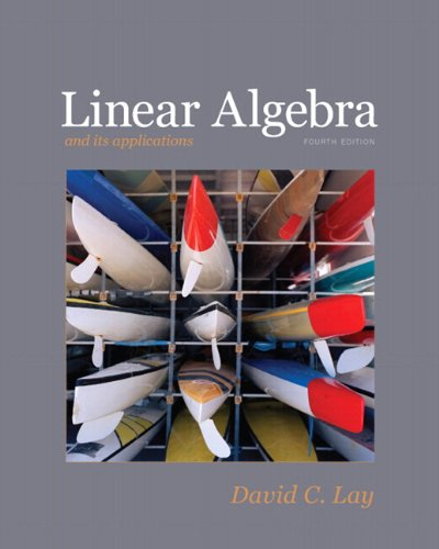 9780321399144: Linear Algebra and Its Applications