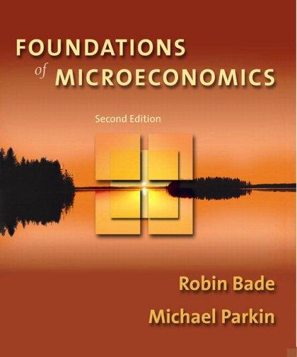 9780321399403: Foundations of Microeconomics Homework Edition Plus MyEconLab Student Access Kit (2nd Edition)