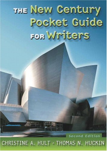 9780321399571: New Century Pocket Guide for Writers, The (2nd Edition)