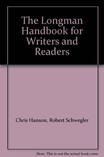 9780321402011: The Longman Handbook for Writers and Readers