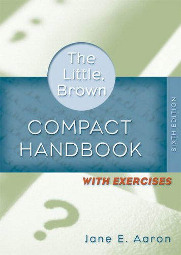 9780321409140: Little, Brown Compact Handbook with Exercises, 6th Edition