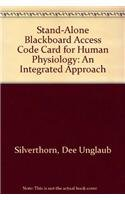 9780321409669: Stand-Alone Blackboard Access Code Card for Human Physiology: An Integrated Approach