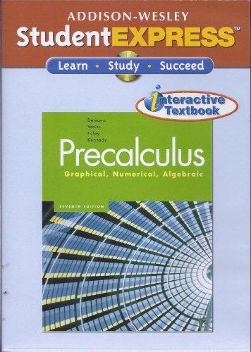 9780321409959: Student Express, Precalculus: Graphical Numerical Algebraic