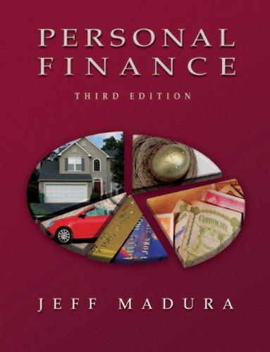 9780321409966: Personal Finance with Financial Planning Software (3rd Edition)