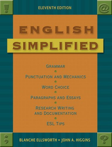9780321410696: English Simplified (11th Edition)
