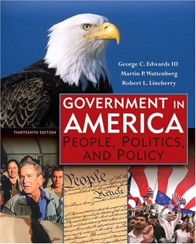 9780321411006: Government in America: People, Politics, and Policy (13th Edition)