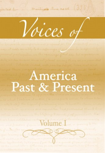 9780321411617: 1: Voices of America Past and Present, Volume I