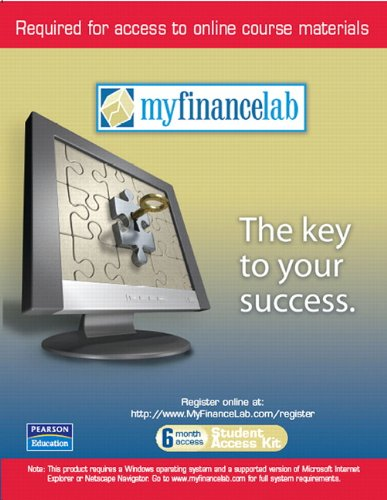 9780321412393: MyFinanceLab 6-Month Student Access Code Card (for valuepacks) for Personal Finance: Turning Money into Wealth and Student Workbook and MyFinLab Package