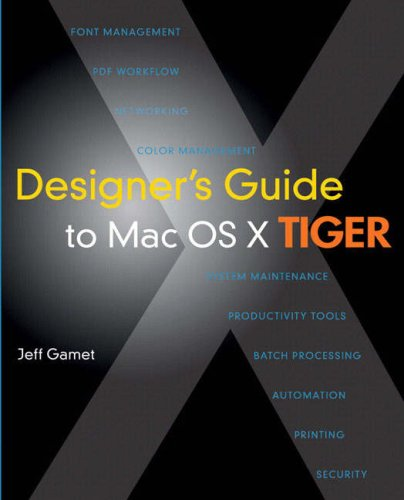 9780321412461: Designer's Guide to MAC OS X Tiger