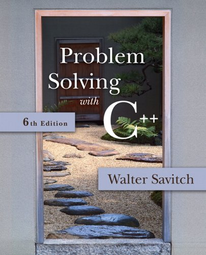 9780321412690: Problem Solving with C++: United States Edition