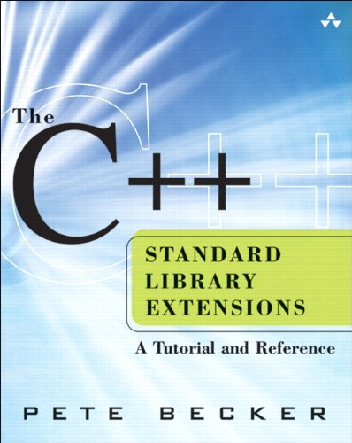 9780321412997: The C++ Standard Library Extensions: A Tutorial and Reference