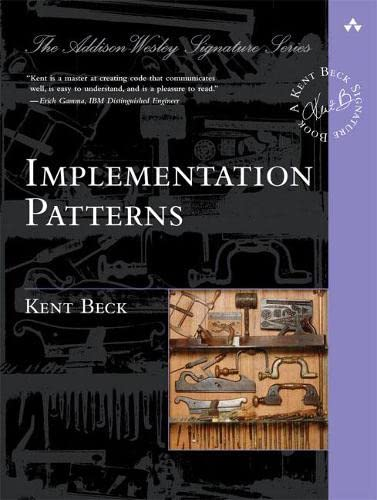 9780321413093: Implementation Patterns