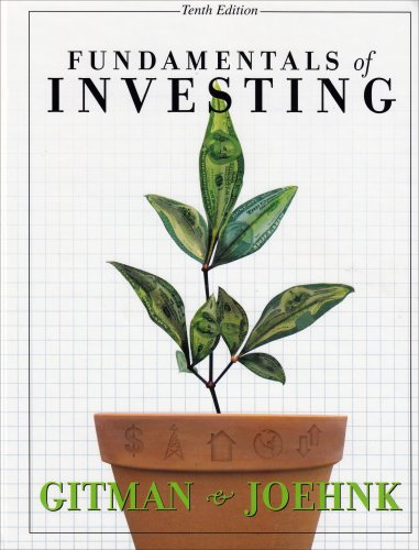 9780321413741: Fundamentals of Investing: United States Edition (Pearson Custom Business Resources)