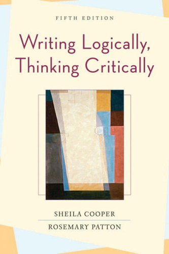 9780321414311: Writing Logically, Thinking Critically