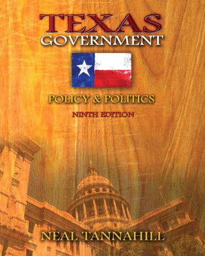 9780321414663: Texas Government: Policy and Politics (9th Edition)