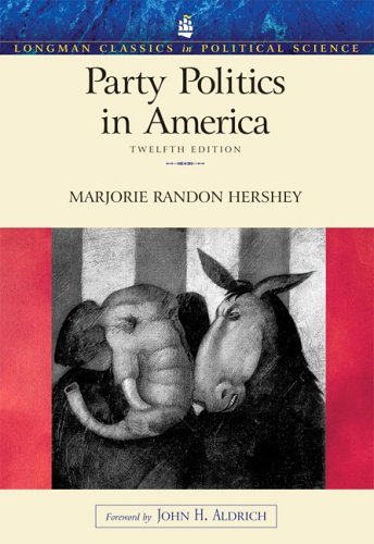 9780321414915: Party Politics in America (12th Edition) (Longman Classics in Political Science)