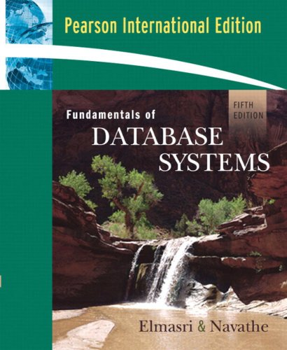 9780321415066: Fundamentals of Database Systems: International Edition