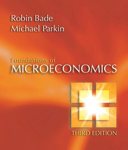 Michael parkin robin bade abebooks foundations of microeconomics plus myeconlab plus ebook robin bade michael fandeluxe Images