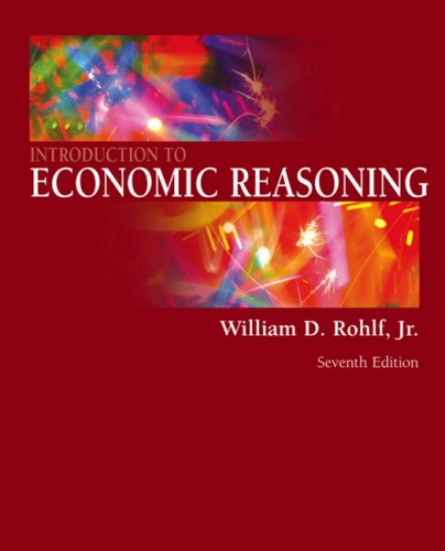9780321416117: Introduction to Economic Reasoning (7th Edition)