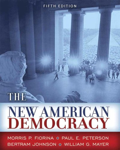 9780321416148: New American Democracy, The (5th Edition)