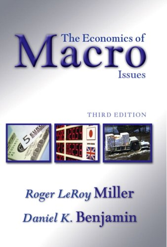9780321416599: Economics of Macro Issues, The (3rd Edition)