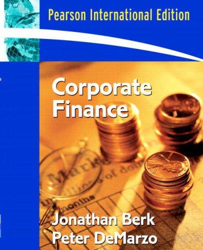 9780321416803: Corporate Finance
