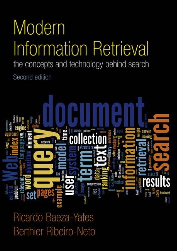9780321416919: Modern Information Retrieval (ACM Press Books)