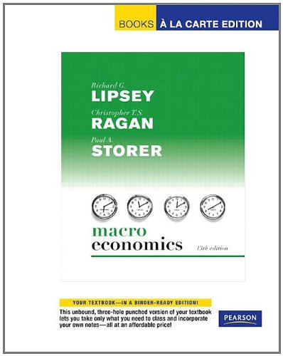 9780321419149: Student Value Edition for Macroeconomics (13th Edition)