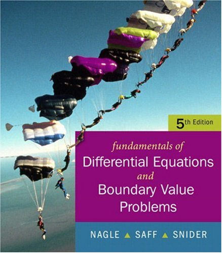 9780321419217: Fundamentals of Differential Equations with Boundary Value Problems with IDE CD (Saleable Package) (5th Edition)