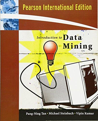 9780321420527: Introduction to Data Mining: International Edition
