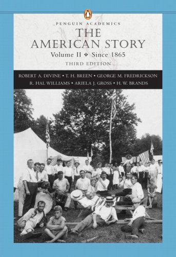 9780321421852: The American Story, Vol. 2: Since 1865