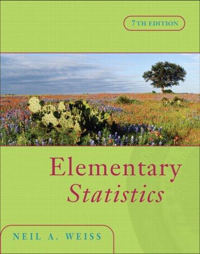 9780321422095: Elementary Statistics (7th Edition)